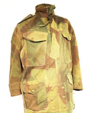 Veste de saut camouflée parachutiste britannique (Denison smock),
