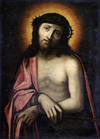 Ecole du XVIIème siècle (Suiveur de Pierre MIGNARD ?), Christ aux
