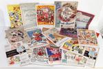 Collection d'anciens catalogues de jouets et nouveautés des Grands