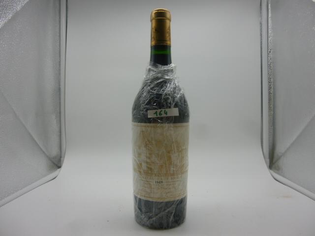 1 btlle Pessac Léognan, Chat. Haut Brion, 1989.
