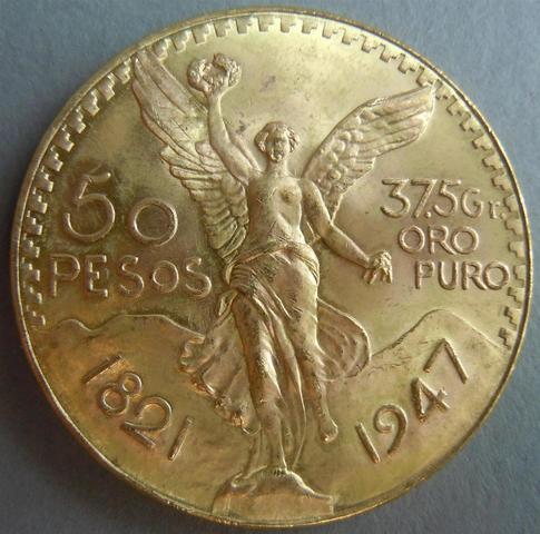 MEXIQUE - 50 Pesos or 1947 - TTB