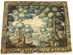 FLANDRES fin XVIIe, début XVIIIe siècle Verdure représentant un