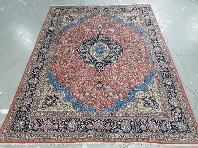 Sarough en laine (Iran). 380 x 290.