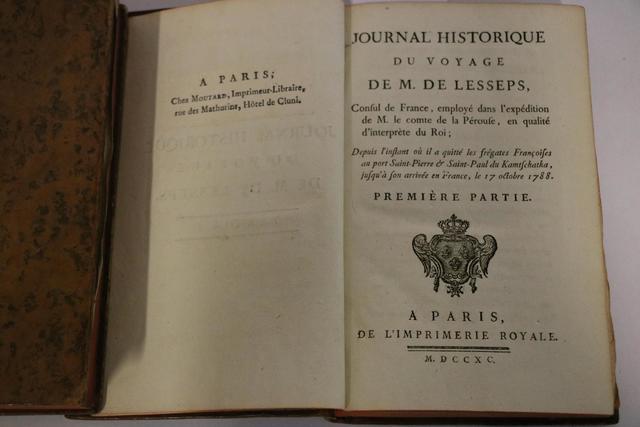 « Journal historique du voyage de M. de Lesseps, consul de France,