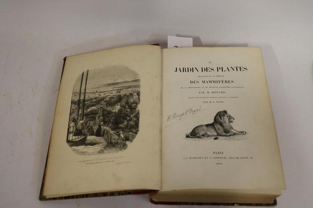 Editions du XIXème siècle « Le Jardin des Plantes Description et
