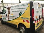 Ctte FOURGON RENAULT TRAFIC DCI 115 - AW-672-WY - Type constructeur