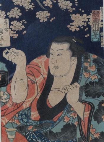 Utagawa KUNITERU (actif vers 1818-1860) - JAPON, vers 1850-1860 -
