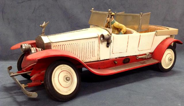 JEP - Jouet dE Paris - ROLLS ROYCE Ref 7395 produite entre 1927 et