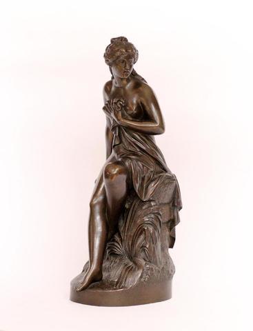 LANZIROTTI Antonio Giovanni (1839-1921) Vénus sortant du bain Bronze