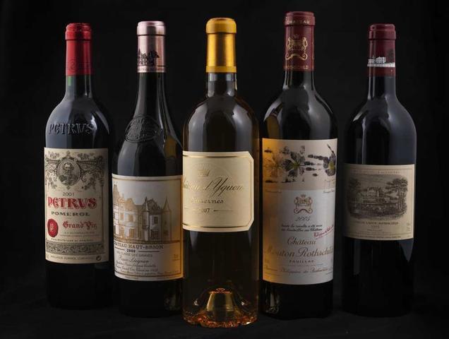 Grands vins, champagnes, spiritueux