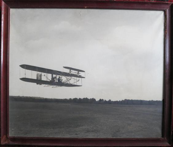 Wright Flyer. Photographie. 53 x 64 cm