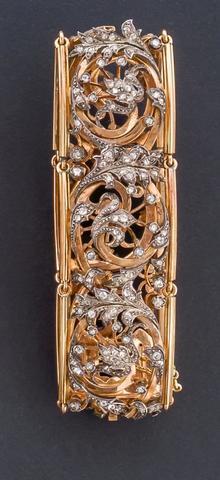DAUBREE - Orfèvre à Nancy Bracelet articulé en or 750 millième