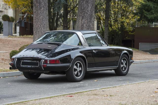 PORSCHE 911 E Targa  2, 4 l 1973 125 366  miles  Moteur six cylindres