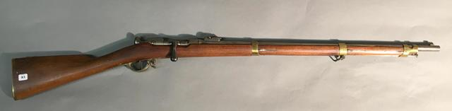 carabine réglementaire de gendarmerie à cheval Chassepot modèle