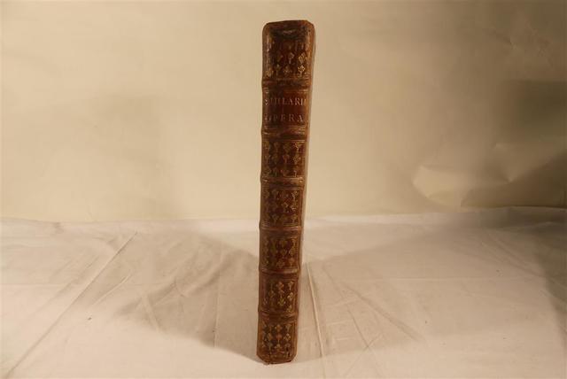 St Hilaire. Oeuvres complètes. Paris, imprimerie des Jesuites, 1652