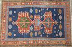 KAZAK (Caucase) original. Fin XIX°-début XX° siècle. Tapis à