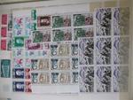 FRANCE émissions 1960/2000 : Important stock de timbres neufs par