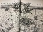 [ATLAS]. ROUSSEL (M.). Paris, ses fauxbourgs et ses environs. Où