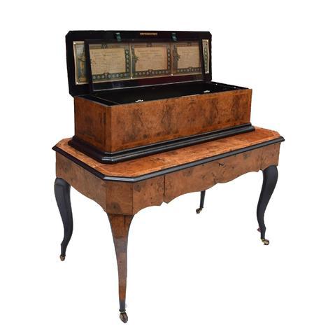 """""""MEUBLE à MUSIQUE J.H HELLER : Exceptionnel meuble à musique de"""