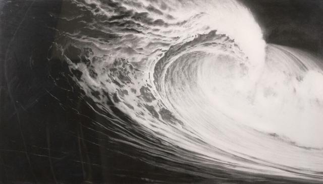 Robert LONGO (né en 1953).  Untitled (Angel's Wing), 2005. De la