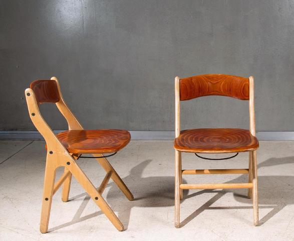 Marc HELD (1932) Bessiere fabricant Rare mobilier conçu pour le