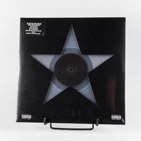 1 disque 33t de David Bowie - BlackStar édition Clear tirage limité