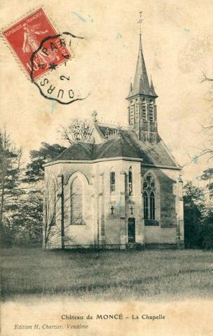CHAPELLE SAINT-MICHEL, Château de Moncé, RN 10.  41100 Saint-Firmin