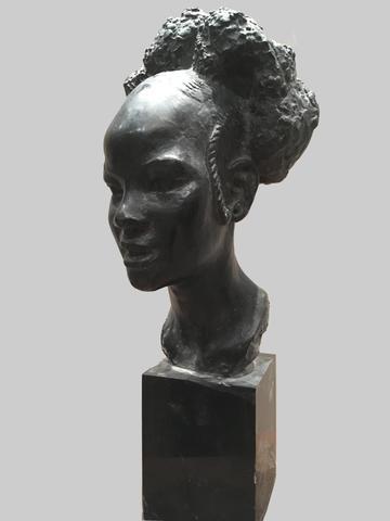 Anna QUINQUAUD (Paris, 1890 - Fontenay-Trésigny, 1984) Dico. Bronze