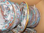 J. DEFRIES & SONS - Partie de SERVICE de TABLE en porcelaine opaque