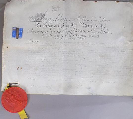 SOUVENIR HISTORIQUE -« Napoléon par la Grâce de Dieu, Empereur