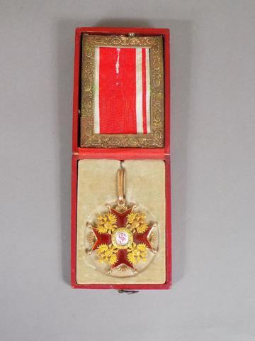 RUSSIE - DECORATION MILITAIRE - ORDRE de Saint Stanislas. Croix de