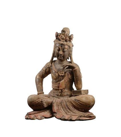 CHINE, dans le style Ming - Fin XIXe siècle Statuette de Guanyin