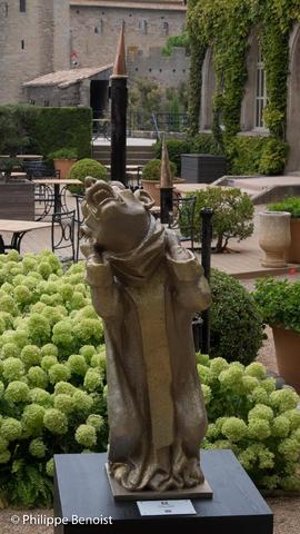 VanBinh, sculpteur  La cité fantastique de VanBinh (©Ph. Benoist) Puisque