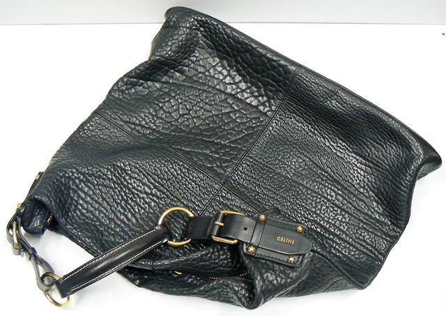 CELINE Grand sac noir souple