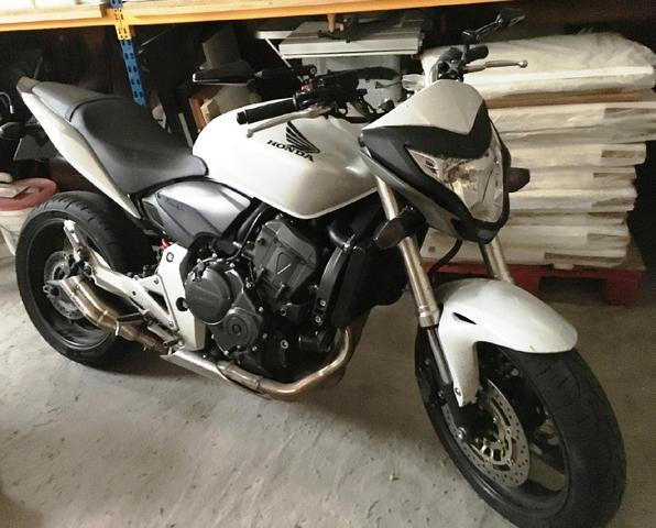 MOTO HONDA CB 600F de 2012 - 21 873 km