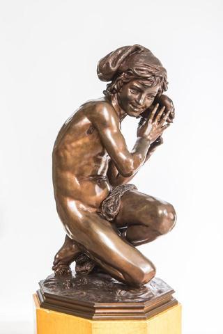 Jean-Baptiste CARPEAUX (1827-1875) Le Pêcheur à la Coquille n°1