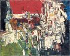 Jean-Paul RIOPELLE (1923-2002) REPAIRE, 1957 Huile sur toile signée