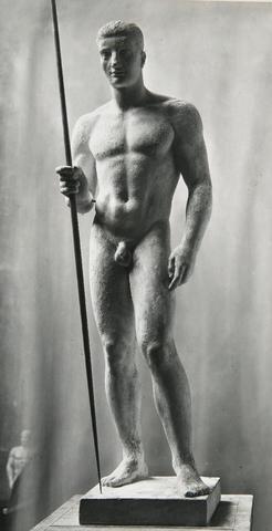 LE SCULPTEUR PIERRE BOURET (1897-1972) :  « L'OUVRIER DU CISEAU
