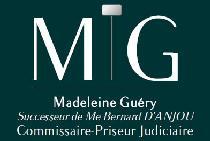 logo Me Madeleine Guery Successeur Bernard d'ANJOU et Guéry Maison de ventes