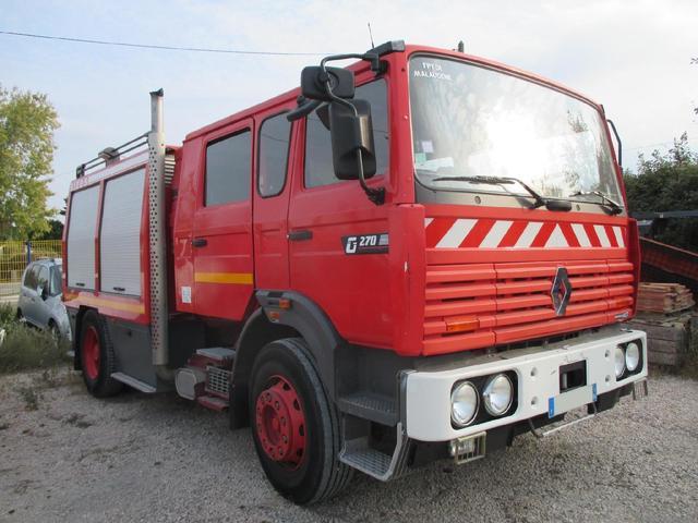 *VASP RENAULT G270 INTERCOLER ACE - 1ère MEC: 13/03/1996 - 32 195kms