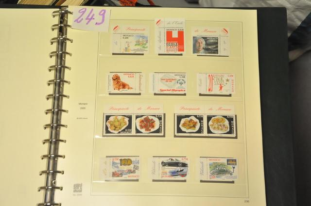 Collection de Monaco (Postes, PA, Préo, Taxe, BF, carnets) du début