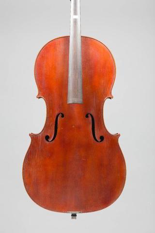 Violoncelle XXème, portant étiquette apocryphe Bellarosa. Bon état.