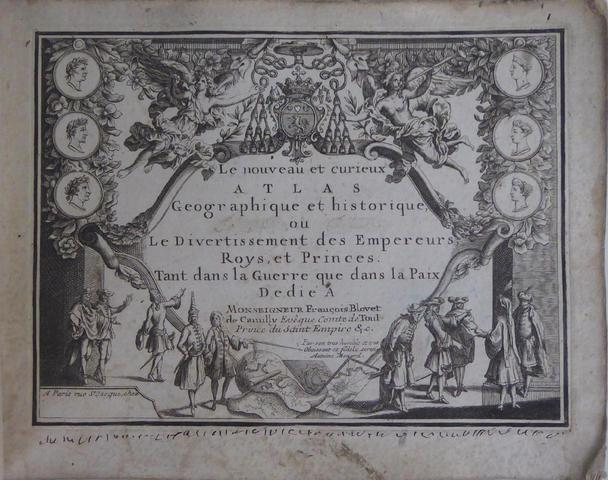 LE NOUVEAU ET CURIEUX ATLAS GEOGRAPHIQUE ET HISTORIQUE OU LE DIVERTISSEMENT