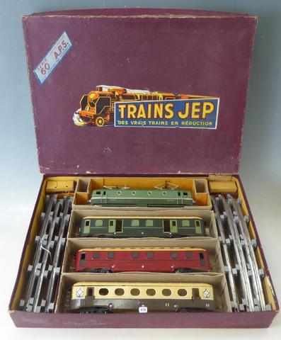 JEP - O - : 1 COFFRET:Locomotive électrique type CC7001  à 2 moteurs