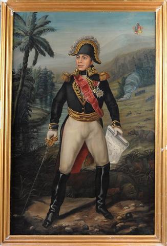 ÉCOLE MODERNE dans le goût du début du XIXème siècle Portrait