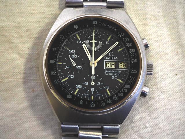 OMEGA Speedmaster bracelet montre homme  de plongée en acier, mouvement
