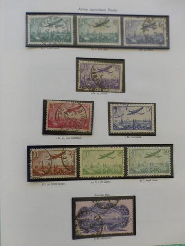 Timbres-poste de France. Collection à l unité (suite du n° 11).