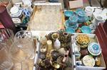service à thé, vases, bonbonnières, bibelots
