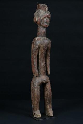"NIGERIA MUMUYE Superbe et très ancienne statue ""lagalganga"", les"