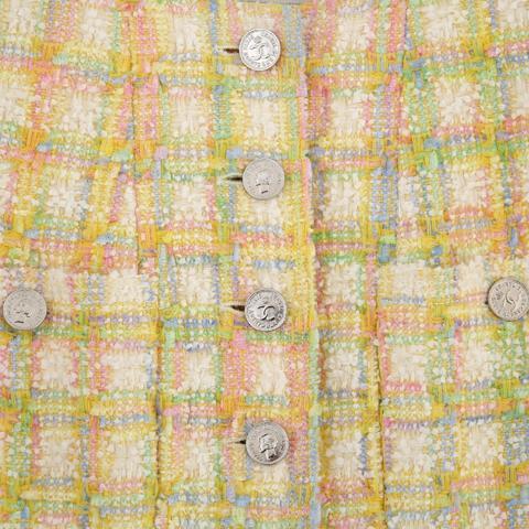 CHANEL Boutique Collection Printemps/Eté 1996 Manteau en tweed de
